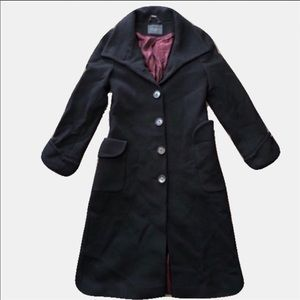 Ted Baker Wool Trench Overcoat